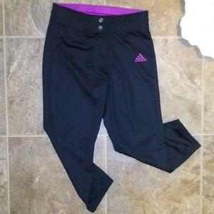 Adidas Climalite Leggings Athletic Workout Pants